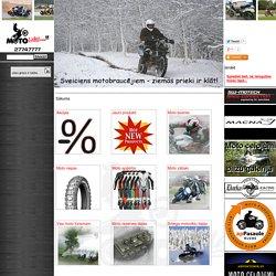 Sākums : Produkti: MOTOLietas.lv - Viss motobraucējiem un viņu faniem