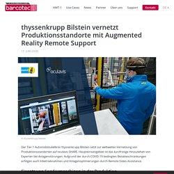 thyssenkrupp Bilstein vernetzt Produktionsstandorte mit Augmented Reality Remote Support - RealWear