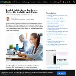 Produktivität-Apps: Die besten Helfer für Android und iPhone