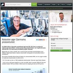 Robotter øger Danmarks produktivitet - Ydelser - Teknologisk Institut