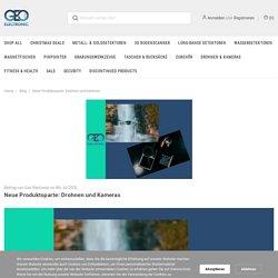 Neue Produktsparte: Drohnen und Kameras - Geo-Electronic GmbH