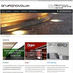 PRODUTOS - Gruponovolux.com : Gruponovolux.com