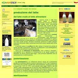 produzione del latte