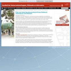 Prijs voor beste big data-proefschrift door Radboud-informaticus Tom Claassen - Faculteit der NWI
