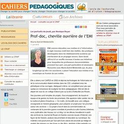 Prof-doc, cheville ouvrière de l'EMI