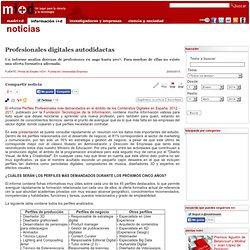 Profesionales digitales autodidactas