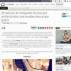 20 bancos de imágenes hechas por profesionales que puedes descargar gratis