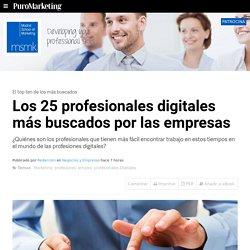Los 25 profesionales digitales más buscados por las empresas