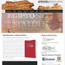 Página web del Profesor Doctor Antonio Piñero