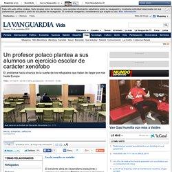 Un profesor polaco plantea a sus alumnos un ejercicio escolar de carácter xenófobo