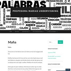 Profesora Marias undervisning