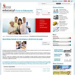 Profesorado - Portal de Educación de la Junta de Castilla y León - Aprendizaje basado en estrategias y dinámicas de juego