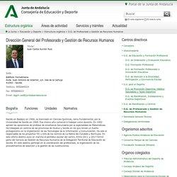 D.G. de Profesorado y Gestión de Recursos Humanos - Consejería de Educación y Deporte - Junta de Andalucía
