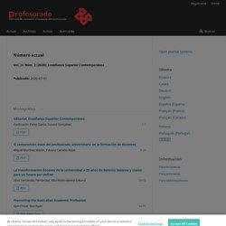 Profesorado, Revista de Currículum y Formación del Profesorado