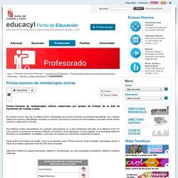 Profesorado - Portal de Educación de la Junta de Castilla y León - Fichas-resumen de metodologías activas