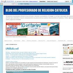 Blog del Profesorado de Religión Católica: enero 2011