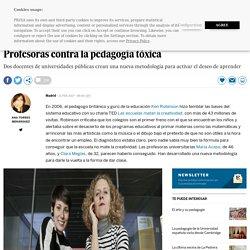 Profesoras contra la pedagogía tóxica