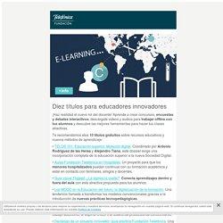 Boletín Educación: 10 títulos para profesores innovadores