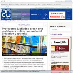 Profesores jubilados crean una plataforma online con material didáctico y gratuito