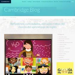 Ideas para profesores: Uso de plataformas de vídeo para dar clase virtual - Blog Cambridge