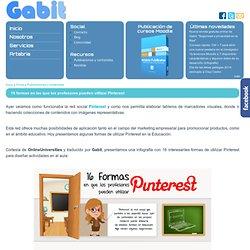 16 formas en las que los profesores pueden utilizar Pinterest
