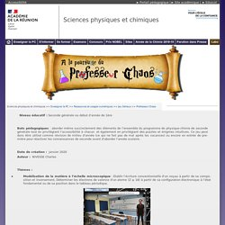 Professeur Chaos