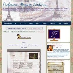 Professeur Mayara Linhares: B1