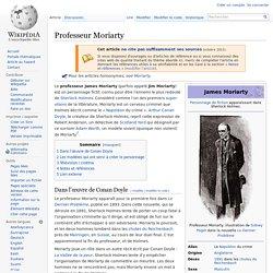 Professeur Moriarty
