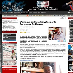 L'arnaque du Sida décryptée par le Professeur De Harven