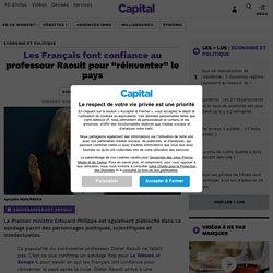 """Les Français font confiance au professeur Raoult pour """"réinventer"""" le pays..."""