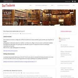 Doc'Toulouse – Le site des professeurs documentalistes de l'académie de Toulouse