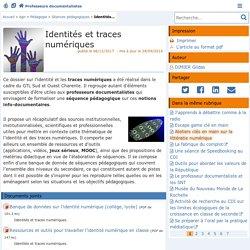 Identités et traces numériques - 5ème et 3ème
