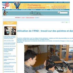 IPAD/peintres