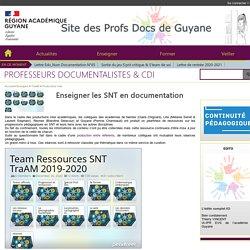 Enseigner les SNT en documentation