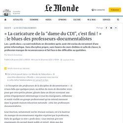 """« La caricature de la """"dame du CDI"""", c'est fini ! » : le blues des professeurs-documentalistes"""