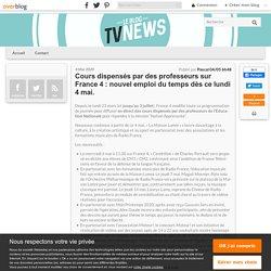 Dès lundi, France 4 diffuse des cours dispensés par des professeurs de l'Education Nationale. - Leblogtvnews.com