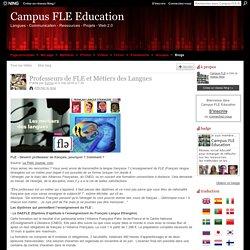 Professeurs de FLE et Métiers des Langues