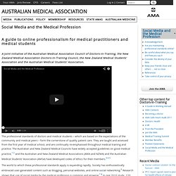 Social Media and the Medical Profession | Australian Medical Association