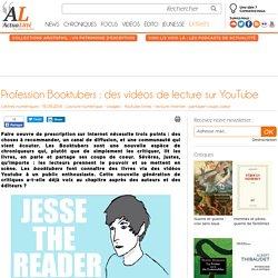 Profession Booktubers : des vidéos de lecture sur YouTube