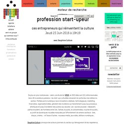 Profession start-upeur