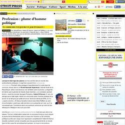 Lundi 15 Octobre 2012 sur StreetPress