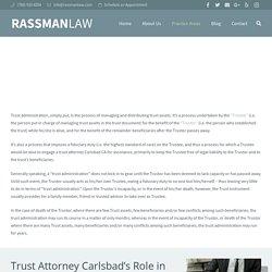 Top Trust Attorney in Carlsbad CA