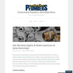 Get the best Septic & Sewer services at your doorsteps