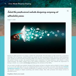Know the importance of Website Designing Company