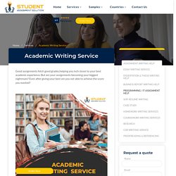 Professional Academic Writing Service at An Affordable Cost
