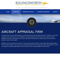 Professional Aircraft Appraisal Services
