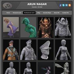 Professional 3D artist - Arun Art