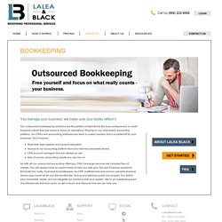 Outsourced Professional Bookkeeping Solutions Services Los Angeles CA