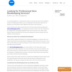 Looking for Professional Xero Bookkeeping Services? Xero Accountants