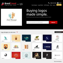 Logo Design, Buy & Sell Logo Designs, Professional Logo Design |  BrandCrowd